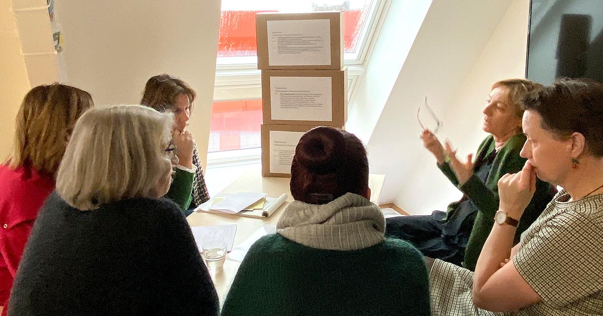 """Umsetzungs-Workshop_Expertenstandard """"Beziehungsgestaltung in der Pflege von Menschen mit Demenz"""""""