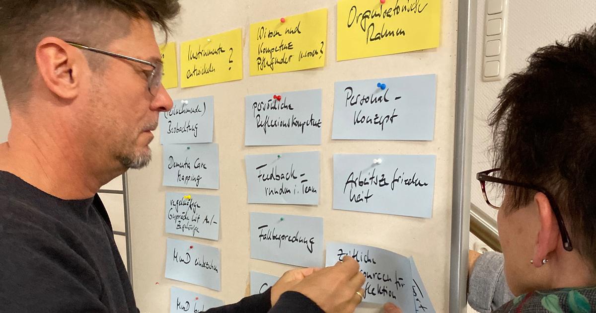 """Workshop Umsetzung Expertenstandard """"Beziehungsgestaltung in der Pflege von Menschen mit Demenz"""""""